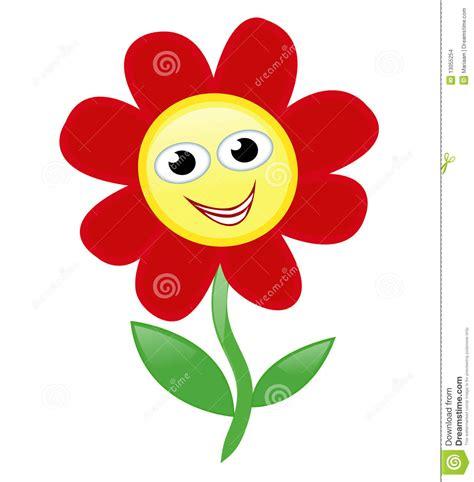 clipart fiore fiore felice immagini stock immagine 13055254