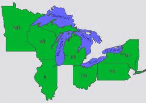 maps us map great lakes