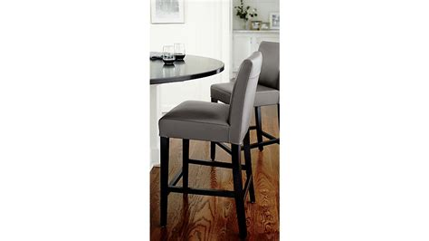 Crate And Barrel Leather Counter Stools by Lowe Smoke Leather Counter Stool Crate And Barrel