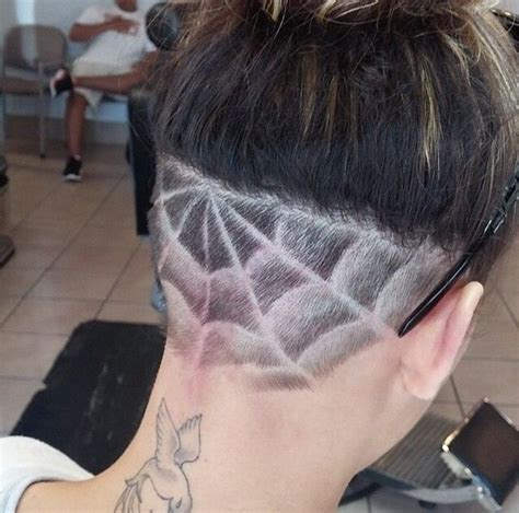 extension in shaved back and side hair 1000 ideas about undercut ponytail on pinterest