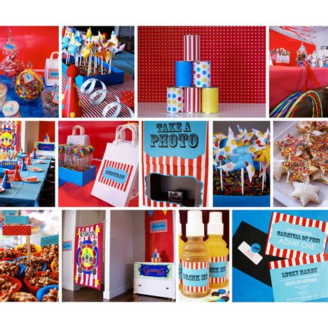 carnival themes ideas carnival party ideas on pinterest vintage carnival