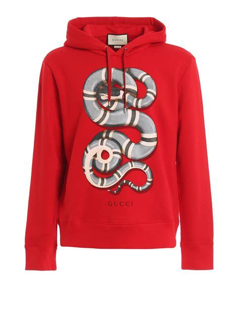 Print Hoodie snake print hoodie gucci sweatshirts und pullover