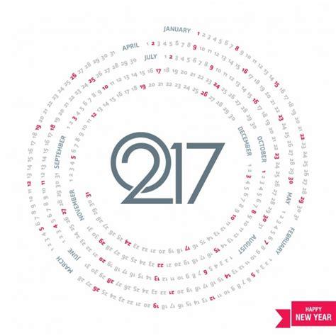circle calendar template calendar circle 2007 vector free