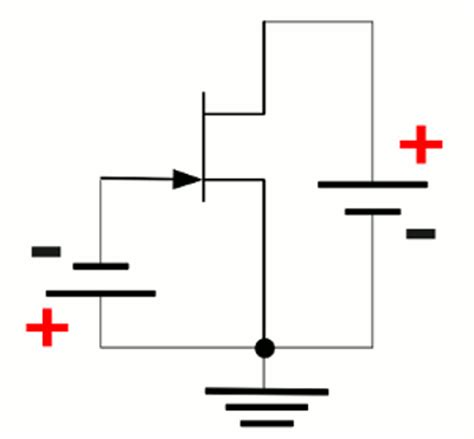 transistor jfet kanal n jfet homofaciens