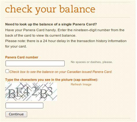 Panera Check Gift Card Balance - panera gift card balance online infocard co