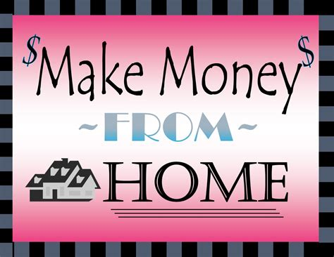 make money from home musings of a multi tasking