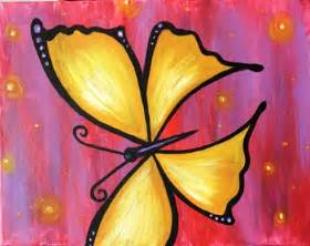 butterfly pictures to paint canvas painting