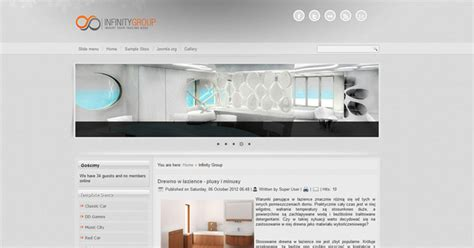 Free Joomla 3 0 Template Infinity Group Free Joomla Templates Downloads Free Joomla 3 7 Templates