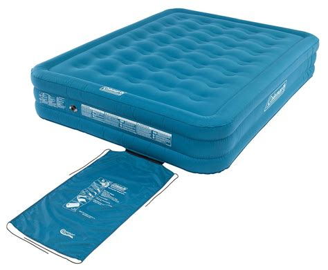 coleman durable airbed raised cing