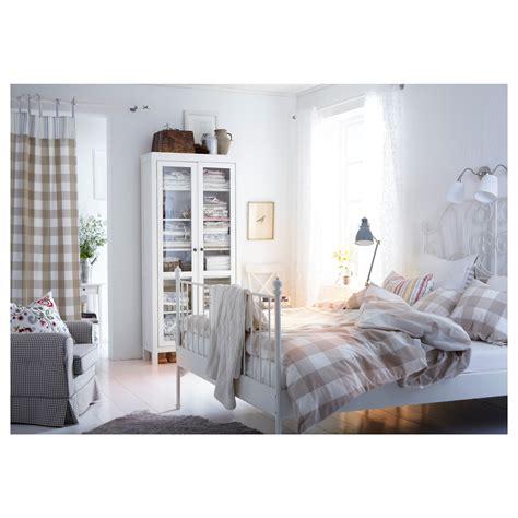 bett 160x200 ikea leirvik cadre de lit blanc 160x200 cm ikea