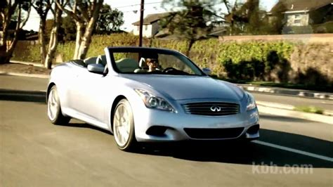 blue book used cars values 2012 infiniti g37 interior lighting 2010 infiniti g37 convertible review kelley blue book youtube