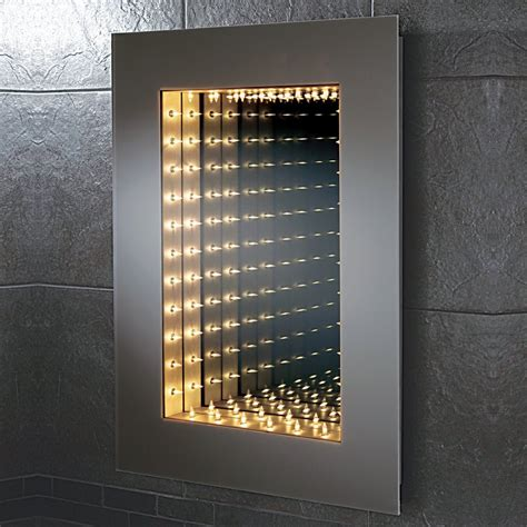 bathroom infinity mirror hib odyssey infinity bathroom mirror 64647295 mirrors