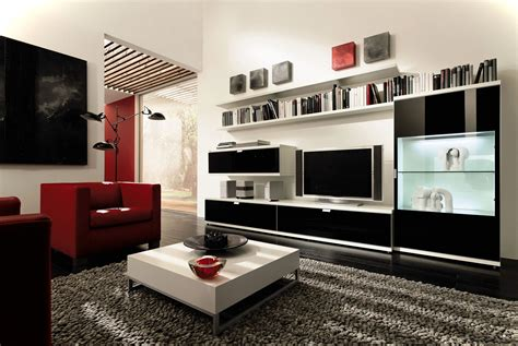 modern furniture sleek furniture in small modern houses