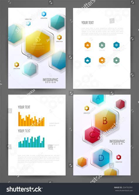 design elements for brochure set brochure design templates design elements stock vector