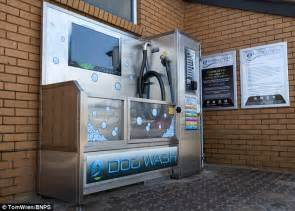 puppy washing automatic wash opens in poole dorset in upmarket resort daily mail