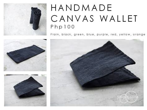 Handmade Canvases - handmade canvas wallets by slipperssabeach on deviantart