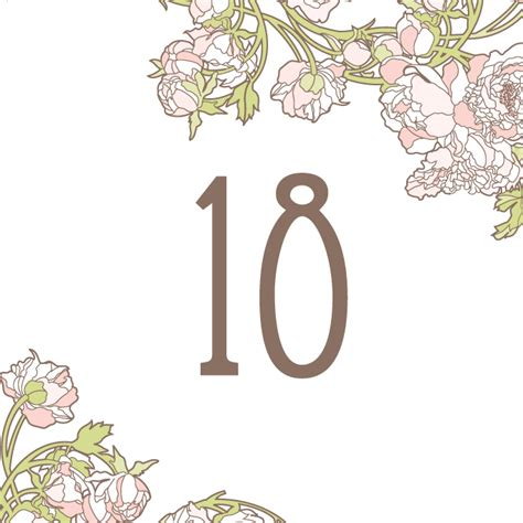 free download table numbers hello lucky