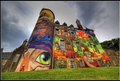 home design kelburn castle graffiti  graffiti art design