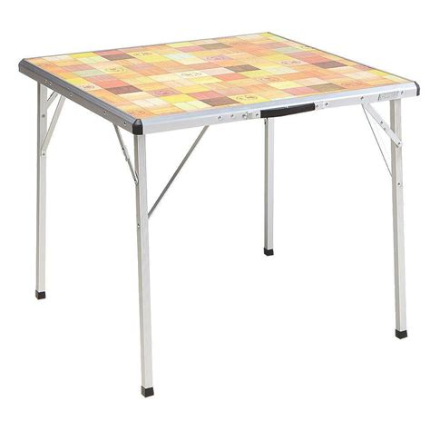 Coleman Pack Away Outdoor Folding Table 2000020278 The