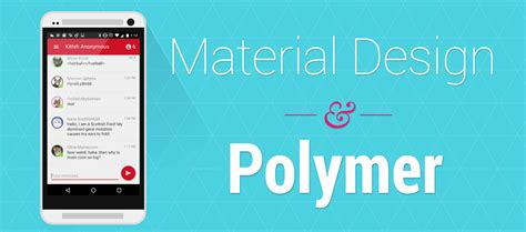 material design tutorial video creating a polymer chat app with material design pubnub