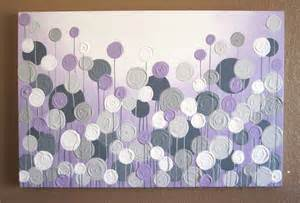 Purple And Gray Bathroom Ideas - light purple and grey textured painting by murraydesignshop