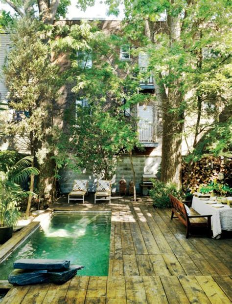 backyard city pools 20 lovely backyard ideas with narrow space home design