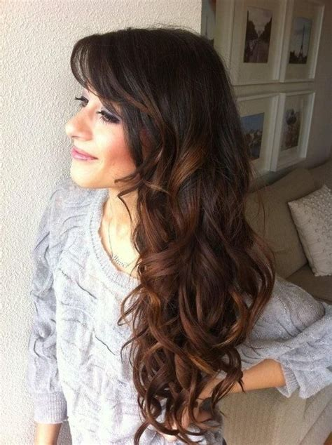 Layered Hairstyles With Vertical Roller Sets | brown layered hairstyles hot roller hair styles