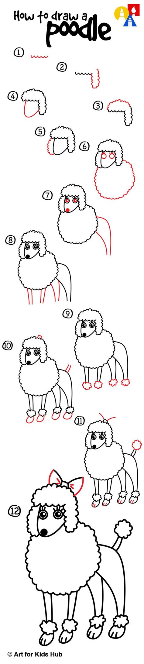 how to a poodle 17 best ideas about easy drawings for on drawing easy