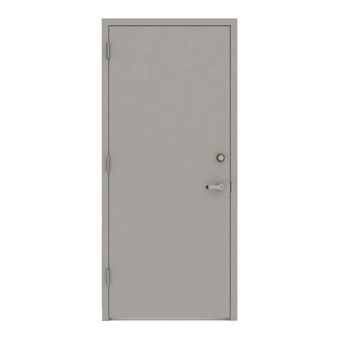 Steel Door 36 x 80 commercial doors exterior doors the home depot