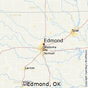 where is edmond oklahoma on the map best places to live in edmond oklahoma
