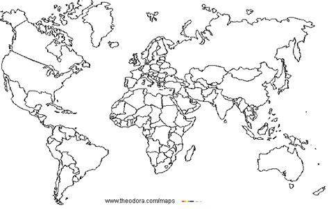 world map coloring page with countries timeless miracle com