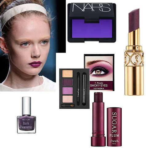 Purple Craze Fall 2007 Trend by Top 6 Fall 2010 Makeup Trends Health
