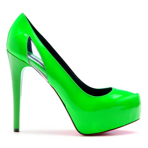 neon color high heels rika s fashion box 2012 top 10 s s shoe trends