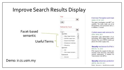 concepts and challenges concepts and challenges of text retrieval for search engine