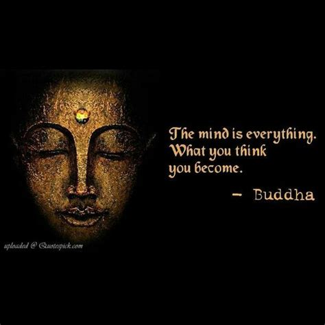 positive buddha quote pictures photos the mind is everything what you think you become
