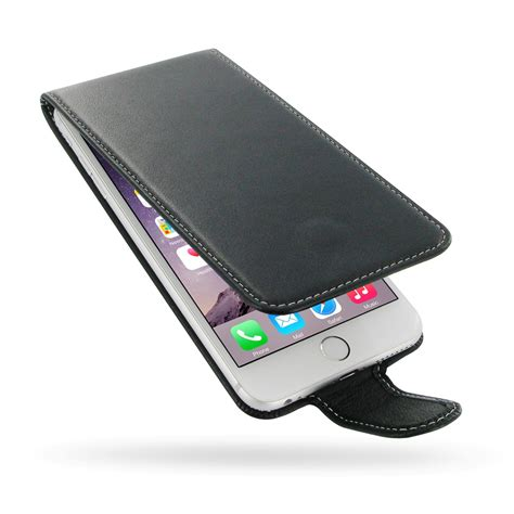 iphone 6 6s plus leather flip carry pdair sleeve pouch holster