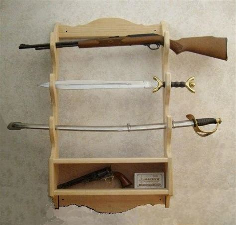 gun rack woodworking plans gun shelf plans woodguides