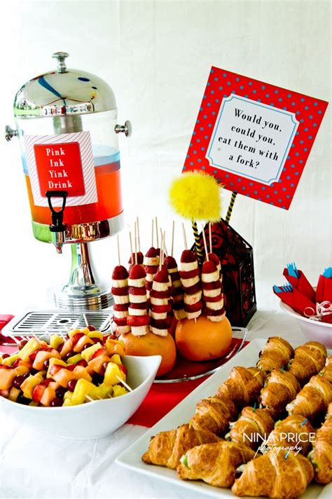 Dr Seuss Baby Shower Food Recipes by Dr Seuss Baby Shower Ideas On Dr Seuss Baby