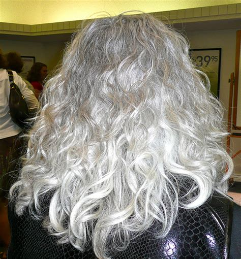 hairstyles for long natural curly gray hair 6 gray hairstyles worth stealing hairstyle blog