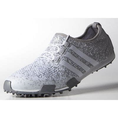 adidas ballerina primeknit golf shoes onix silver discount prices for golf equipment