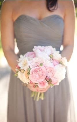 grey and pale pink wedding dove grey bridesmaids with pale pink i think these colors