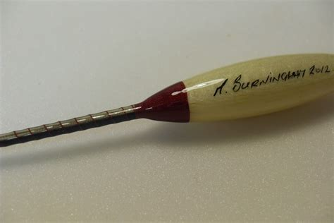 Handmade Fishing Floats - handmade fishing floats by burningham quill