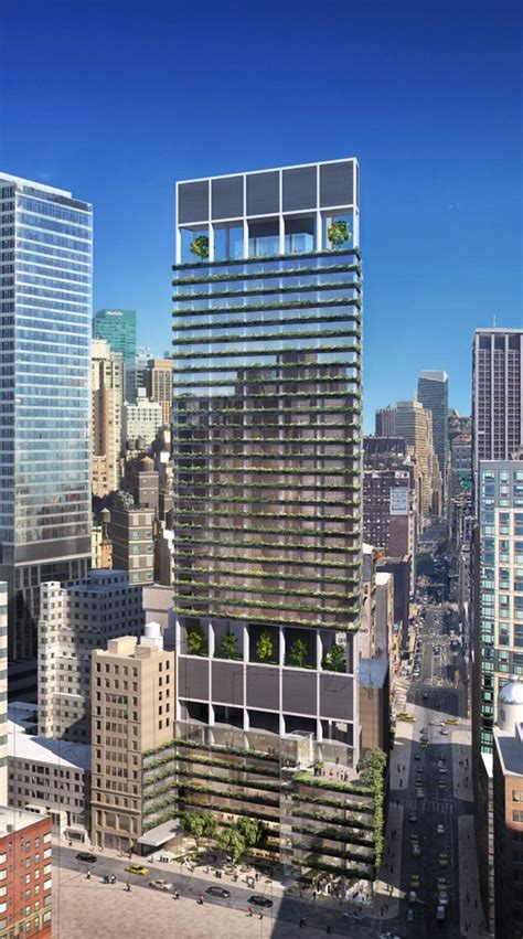 rafael vinoly designed ritz carlton tower  rise