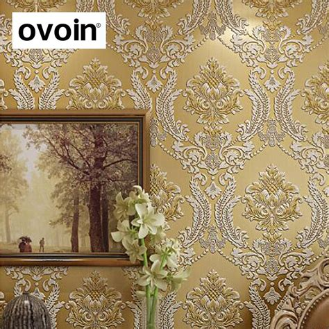Harga Background Paper by Modern Classic Luxury 3d Embossed Floral Damask Wallpaper