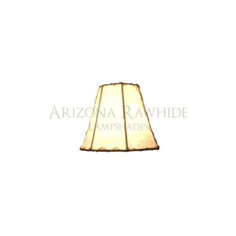 Rawhide Chandelier L Shades by Chandelier Sm Rawhide White Shade 4 Quot H X 5 Quot W 2 5 Quot W Top