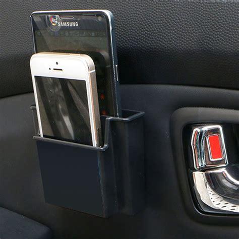 Car Seat Mobile Holder multifunctional mini car cell phone holder black mobile