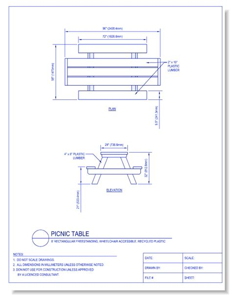 bench cad block site furniture caddetails com caddetails