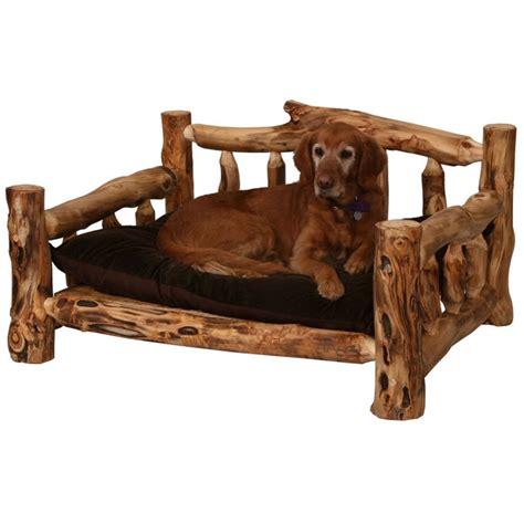 rustic dog bed furniture gt bedroom furniture gt furniture gt rustic aspen