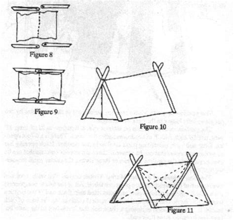 how to build a tent how to build a viking a frame tent with instructions