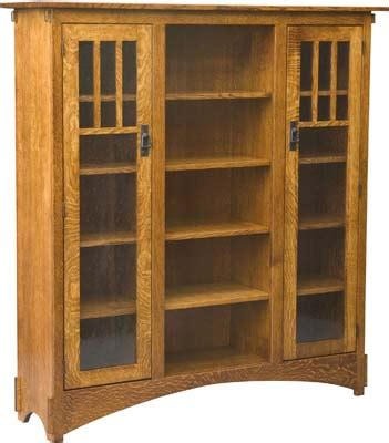 mission style bookshelves free mission style bookcase plans image mag